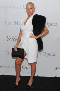Amber Rose // The Metropolitan Opera\'s 125th Anniversary Gala