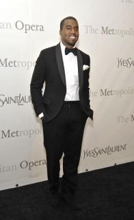 Kanye West // The Metropolitan Opera\'s 125th Anniversary Gala