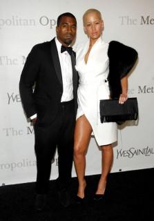 Kanye West & Amber Rose // The Metropolitan Opera\'s 125th Anniversary Gala