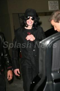 Michael Jackson & Christian Audigier in Beverly Hills (Feb. 27th 2009)
