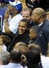 President Barack Obama // Wizards/Bulls basketball game in D.C.