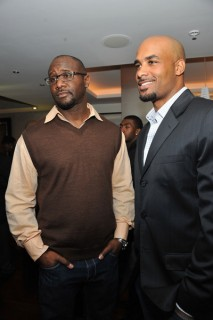 Boris Kodjoe at an event celebrating outstanding accomplishments in music and film