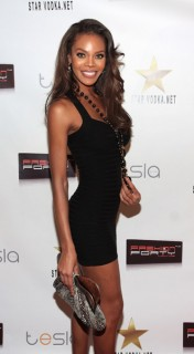 "Miss USA 2008 Crystle Stewart // ""Walk With Style\"" fashion gala"