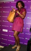 "Serena Williams reveals ""Signature Series\"" clothing & accessories line at Day 3 of the Sony Ericsson Tennis Tournament"