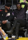 Polow Da Don & Will.i.am // Lakers vs. Mavericks basketball game – Mar. 15th 2009