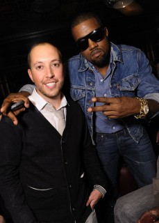 DJ Reflex & Kanye West // DJ Reflex\'s birthday party in Los Angeles