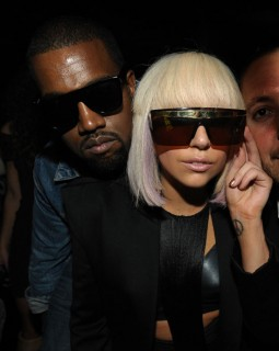 Kanye West & Lady Gaga // DJ Reflex\'s birthday party in Los Angeles