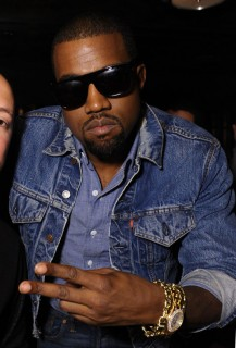 Kanye West // DJ Reflex\'s birthday party in Los Angeles