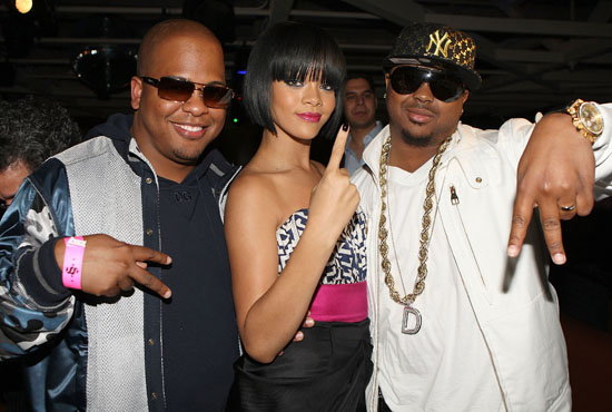 Tricky Stewart, Rihanna and The Dream