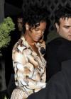 Rihanna leaving Les Deux Nightclub in LA (Mar. 18th 2009)