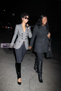 Rihanna and Brandy // Leaving Spotted Pig Restaurant