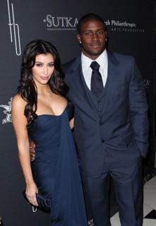 Kim Kardashian & Reggie Bush // Rush Philanthropic Arts Foundation Art For Life