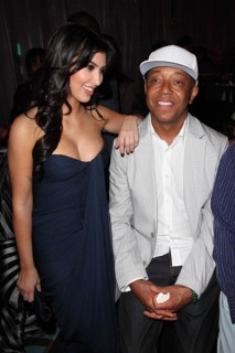 Kim Kardashian & Russell Simmons // Rush Philanthropic Arts Foundation Art For Life