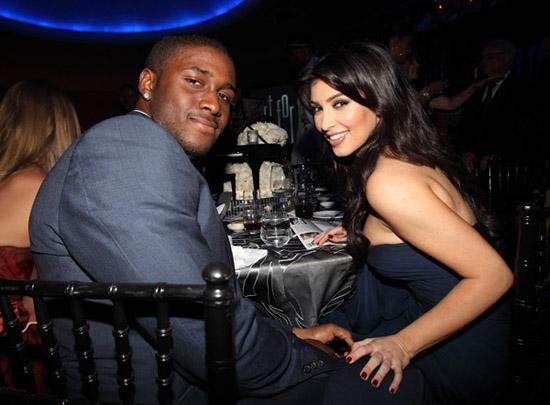 Reggie Bush & Kim Kardashian // Rush Philanthropic Arts Foundation Art For Life