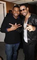 Usher & Ryan Leslie // Ryan Leslie Performance at S.O.B.\'s in NY