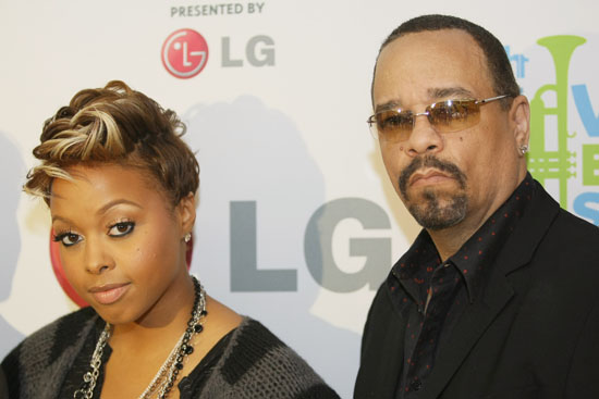 Ice T & Chrisette Michele at City College Academy of Arts in NY