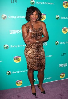 Serena Williams // Sony Ericsson Open Player Party