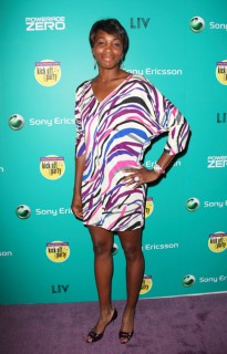 Venus Williams // Sony Ericsson Open Player Party