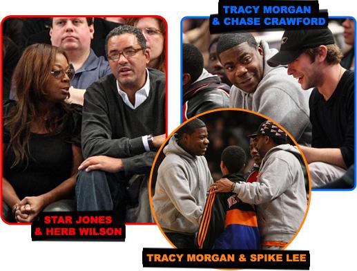 STAR JONES & HERB WILSON // TRACY MORGAN & SPIKE LEE