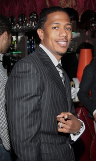 Nick Cannon // Sylvia Rhone\'s surprise birthday party at Norwood