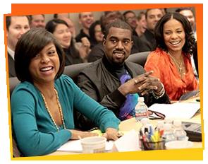 Taraji P. Henson, Kanye West & Sanaa Lathan