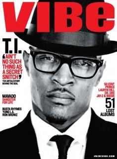T.I. Covers April 2009 VIBE Magazine