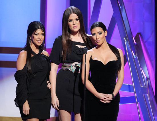 Khloe, Kourtney and Kim Kardashian // 2009 Bravo A-List Awards (Show)
