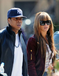 Beyonce and Jay-Z // Lunch in NYC (Apr 5th 2009)