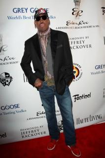 Dennis Rodman // The Blacks\' Annual Gala