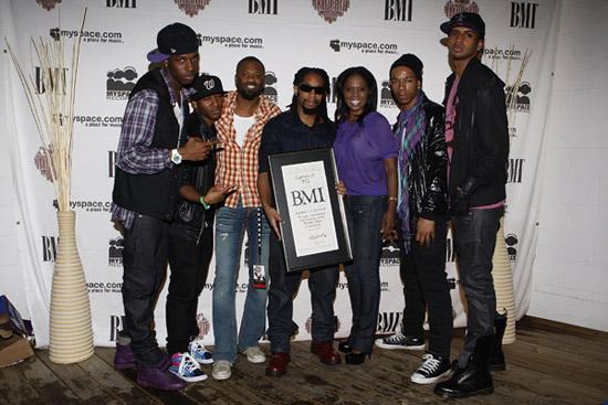 Lil Jon, 713 and BMI Execs Wardell Malloy & Catherine Brewton // BMI Urban Unsigned Talent Showcase