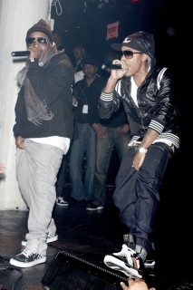 Jermaine Dupri and Bow Wow // Album release party in NY hosted by MySpace and Power 105.1 FM