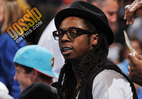 Lil Wayne // Denver Nuggets vs. New Orleans Hornets basketball game (Apr. 19th 2009)