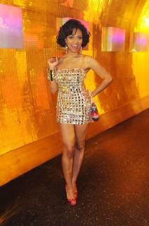 "Teairra Mari on the set of \""Cause A Scene\"" in Las Vegas (Apr. 7th 2009)"