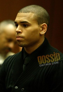 "Chris Brown pleads ""not guilty\"" in LA court (Apr. 6th 2009)"