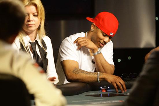 Nelly // Pokerstars\' Ante Up for Africa European celebrity poker tournament