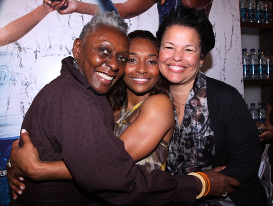 Bethann Hardison, Chilli and Debra Lee // Dasani Ultimate Style and Beauty Lounge