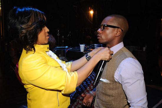 Mary Mary\'s Tina Campbell // 2009 GMA Dove Awards (backstage)
