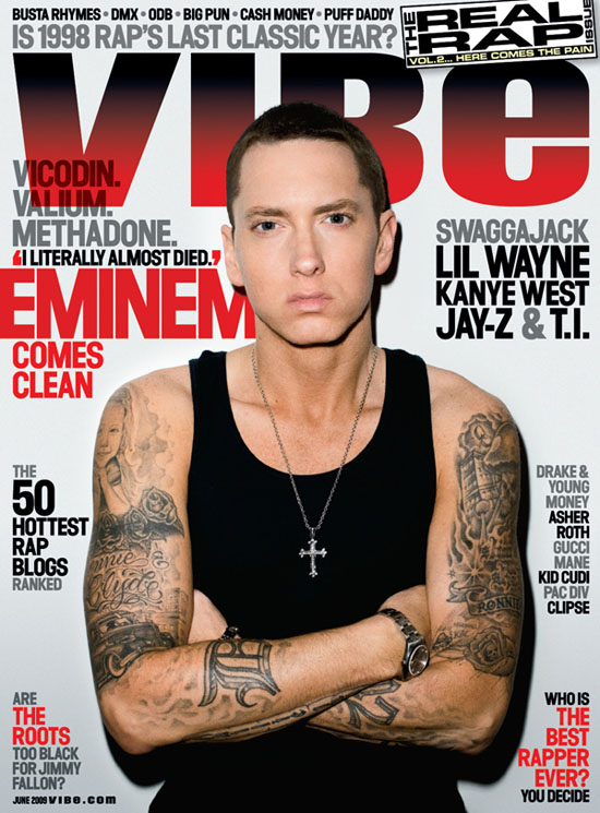 Eminem // June 2009 VIBE Magazine (2nd Annual Real Rap Issue)