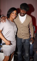 DJ Spinderella & Idris Elba // ESPN Magazine 6th Annual pre-draft party