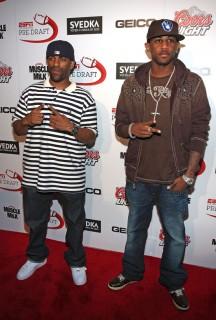 DJ Clue & Fabolous // ESPN Magazine 6th Annual pre-draft party