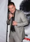 "Channing Tatum // ""Fighting"" Premiere in New York"