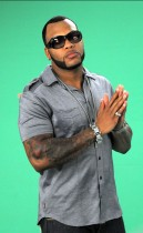 "Flo Rida on the set of ""Sugar"" Music Video"