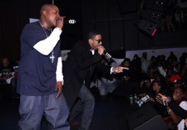 Jadakiss & Ryan Leslie // Jadakiss Concert in NYC