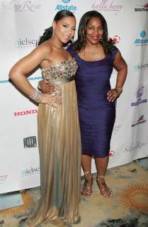 Ashanti & Tina Douglas // Jenesse Silver Rose Gala and Auction