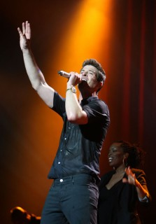 Robin Thicke in concert (New York City - Apr. 10th 2009)