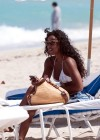 Kelly Rowland on the beach in Miami (Apr. 19th 2009)