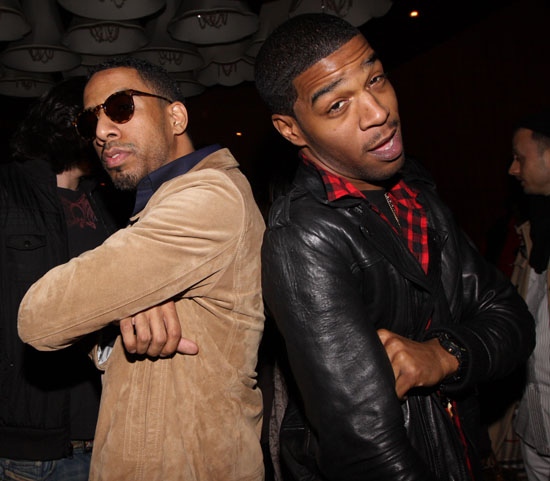 Ryan Leslie & Kid Cudi // Kid Cudi Concert at Mr. West in NYC