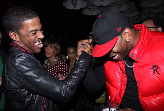 Kid Cudi & Busta Rhymes // Kid Cudi Concert at Mr. West in NYC