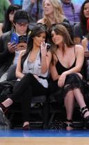 Kim Kardashian & Britney Gastineau // Knicks vs. Pistons Game (Apr. 8th 2009)