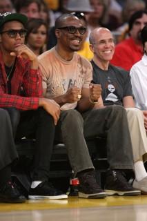 Eddie Murphy // Lakers vs. Jazz basketball game (Apr. 19th 2009)